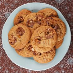 snicker bar peanut butter cookies .. derek :)