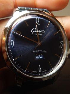 Glashutte Senator Sixties Panoramadatum Grand Date 100% LNIB $9300 List HUGE in Jewelry & Watches, Watches, Wristwatches | eBay