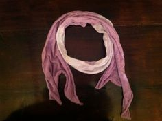 Lavender Ombré Scarf by MrsCaudillDesigns on Etsy, $15.00