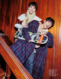 #INFINITE on Cosmopolitan's February 2018 Issue #DongWoo #WooHyun