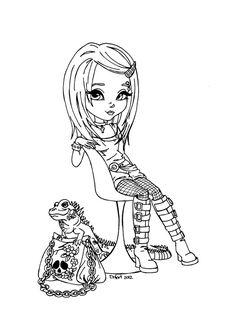 Iguana by *JadeDragonne