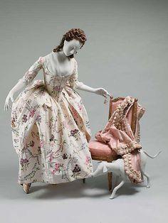 Dress (Robe à la Polonaise) 1780