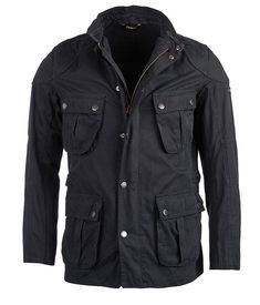 Taking inspiration from the Barbour International brass jacket, the men's Barbour International Lockseam Casual is an updated version, part of the Ride To Th Barbour Jacket Mens, Leather Jacket, Urban Gear, Waxed Cotton Jacket, Russian Men, Barbour International, Cool Jackets, Military Jacket, Cool Style