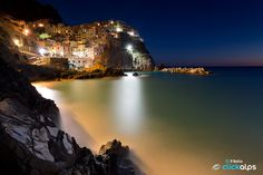 Manarola by night | Kenyon Clarke