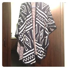 Poncho/fashion scarf Never worn Sweaters Shrugs & Ponchos