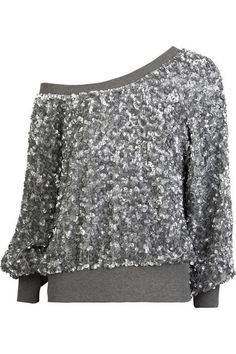 Sequin Top - you betcha I'd wear it!!! Love!!