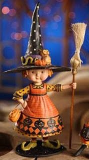 Mary Engelbreit. I just bought this little witch & I highly recommend her !! What a sweet ...Sweet little witch she is ~ <3 ~
