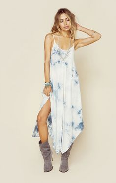 Blue Life New Bohemian Clothes Sundown Hanki Cami Dress | @ShopPlanetBlue