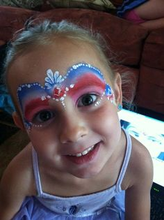 Kristin Lee Painting's: Happy 4th of July! New Face Painting Pictures