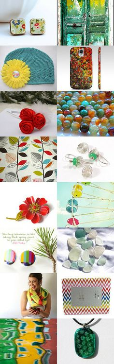 A Lovely Palette by Carla on Etsy--Pinned with TreasuryPin.com