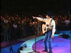 """George Strait's Amazing Performance of """"Blue Clear Sky"""" Live At The As   Country Rebel"""