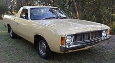 1974 Valiant VJ ute Classic Auto, Classic Cars, Car Crafts, Chrysler Valiant, Flower Car, Van Car, Work Horses, Truck Design, Automotive Art