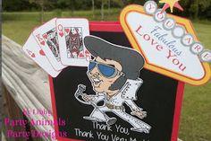 Party Animals' Party Design: Viva Las Vegas!! Elvis Has Not Left the Building!
