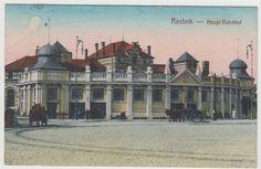 Rostock, Hauptbahnhof, 1920