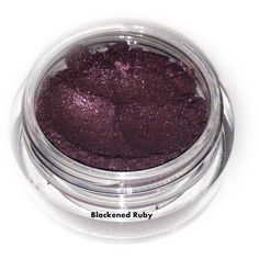 Blackened Ruby Mineral Eyeshadow Eyeliner Makeup All Natural Vegan... (6.51 AUD) ❤ liked on Polyvore featuring beauty products, makeup, eye makeup, mineral makeup, mineral cosmetics and mineral eye makeup