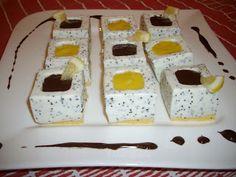 Megfőzlek...: Mákos-joghurtos kockák - Zila formában