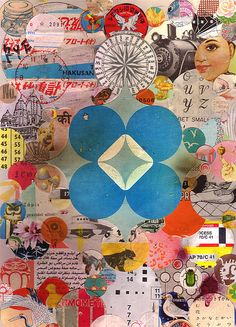 Osuzu and Isumi - art journal inspiration.
