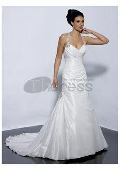 robes jupe plissée amie de mariage d'une ligne