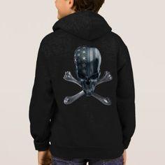 American Skull Zip Hoodie  $44.00  by FantasyApparel  - custom gift idea