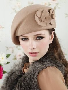 Hats for women girl wool beret red black camel hat beret ear wool tea party hats french beret hat cool beanies-in Berets from Apparel. Fancy Hats, Cool Hats, Buy Hats, Types Of Hats, Tea Party Hats, Wool Berets, Stylish Hats, Fascinator Hats, Fascinators