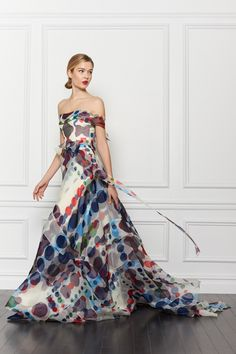 Carolina Herrera - I don't know where I would wear this...but I would want to wear it so bad.