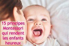 Maria Montessori a répertorié de nombreux principes en faveur de l'épanouissement des enfants. En voici 15, très simples à suivre et qui rendent les enfants heureux !