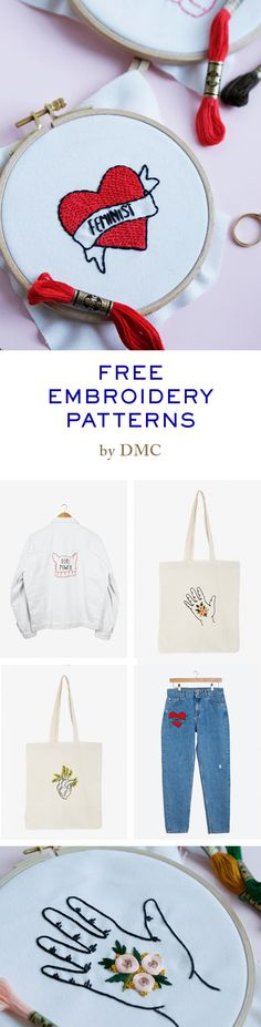 FREE PATTERNS Femme-broidery www.dmc.com