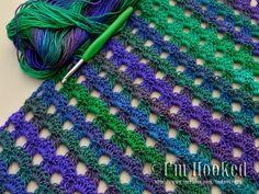 I'm Hooked!: Free Crochet Pattern: Dew Drop Wrap