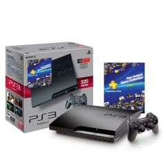 PS3 320GB PS PlayStation 3 Plus Bundle by Sony $299.99  Your #1 Source for Video Games Consoles Accessories! For Full Info Click On PIN  Multicitygames.com