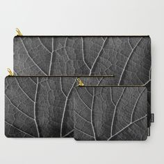 Leaf in black and white  Carry-All Pouch  FREE Worldwide Shipping + 15% Off New Carry-All Pouches only available in this link  https://society6.com/byjwp?promo=W64B4JTBBPMD  Promotion expires March 6, 2016 at Midnight Pacific Time  #promo #offers #pouches #artistpouch #society6 #ARTbyJWP