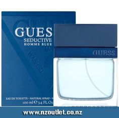 #Guess #Seductive_Homme Blue EDT A man for whom Guess Seductive Homme Blue is intended for is described with the following attributes: legendary, irresistible, bold and sexy. The fragrance draws inspiration from the depths of the sea, enriched with spices and woody tones. It is developed by perfumer Guillaume Flavigny. http://www.nzoutlet.co.nz/product/product_details/Guess-Seductive-Homme-Blue-100-ml-EDT