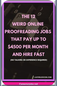 🙆😢 THE 12 ODD ONLINE PROOFREADING TASKS THAT PAY UP TO 4500 MONTHLY AND EMPLOY. #jobsinnigeria #govtjobs #jobsdone #lookingforjobs #sportclipsjobs Make Side Money, Make Money From Home, Way To Make Money, Make Money Online, Job Work, Proofreader, Be Your Own Boss, Starting A Business, Thing 1 Thing 2