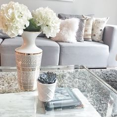 Love the whites and grays for home decor