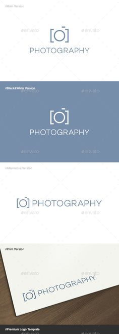 Photography Logo Template #shop • Download ➝ https://graphicriver.net/item/photography-logo/639162?ref=pxcr