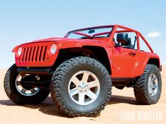 2009 Jeep JK Wrangler Lower 40. Those are 40 inch Mickey Thompson tires!