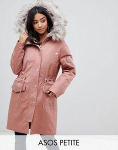 Donna BELLA WRAP COAT Cappotto classico soft pink Bavero