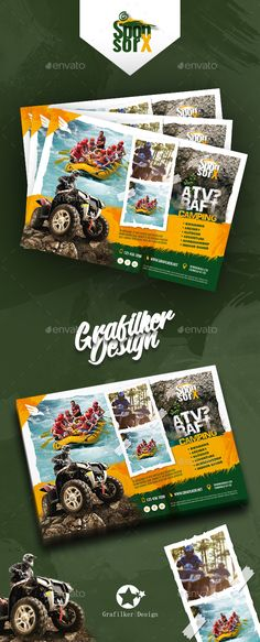Camping Adventure Flyer Templates - Corporate Flyers 	adrenaline, adventure, atv, bambi jumping, camp, camping, climbing, excitement, grafilker, holiday, jet ski, kayaking, nature, parasailing, passion, racing, Rafting, safari, sand, sea, soccer, speed, sporting, student, summer, sun, surfing, tent, training, weekly