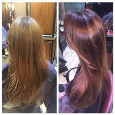 Gorgeous transformation! Cut and color by @christina0x