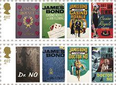 estampillas alusivas a algunas de las peliculas de James Bond Google