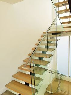 At Toughn Glass, we offer frameless glass balustrade in Melbourne for many purposes and they can be customized as per the clients need as well. What are you waiting for? Contact us today! Frameless Glass Balustrade, Melbourne House, Glass Door, Waiting, Stairs, Wall, Home Decor, Stairway, Decoration Home