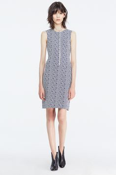 DVF Regenna Sleeveless Fitted Dress | Landing Pages by DVF