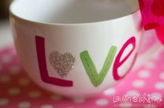 Great DIY for a Valentine's gift for teachers or friends.