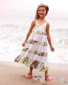 Garden Maxi Dress by Kanya Rose - Girls