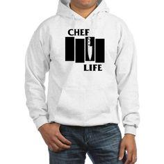 Chef Life Flag Hoodie on CafePress.com