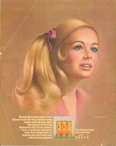 Breck Shampoo ad......used this when I was very young