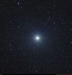 Sirius is the brightest star in the night sky. It shines in the constellation of Canis Major and is visible from most everywhere in the Northern Hemisphere during the winter months.