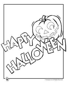 Printable Happy Halloween 2017 Coloring Pages For Kids Adults To Color