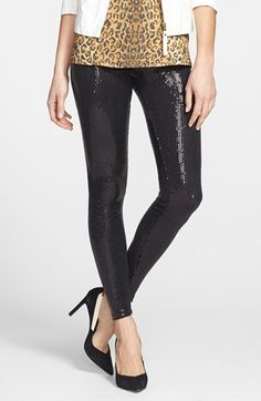 In love with these sequin leggings!