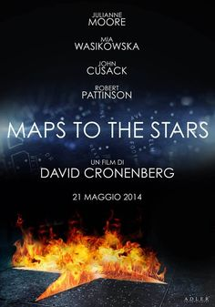 Italian-  Map to the Stars poster