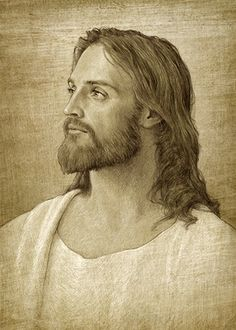 And the Peace of God which passeth all understanding, shall keep your Hearts and Minds through Christ Jesus. Images Bible, Pictures Of Jesus Christ, Jesus Christ Images, Image Jesus, Jesus Tattoo, Jesus Christus, Lds Art, Saint Esprit, Jesus Face